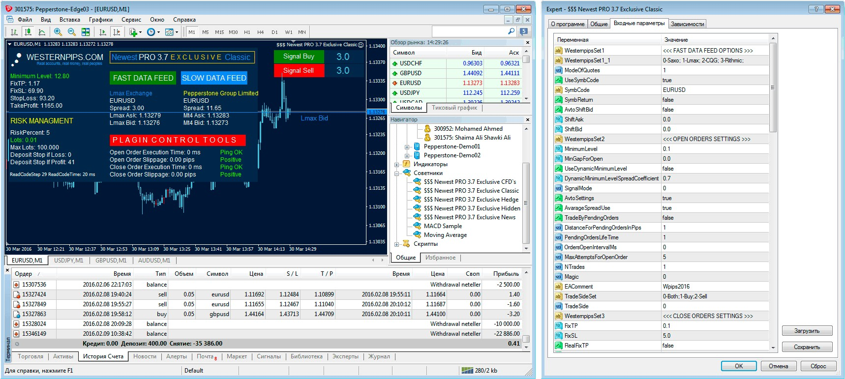 Ea forex trading software