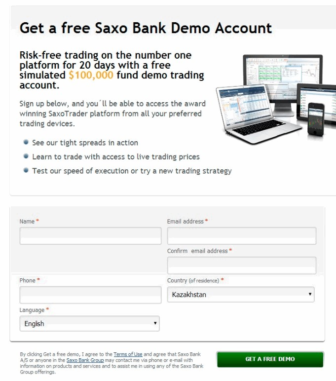 Saxo Bank Data Feed