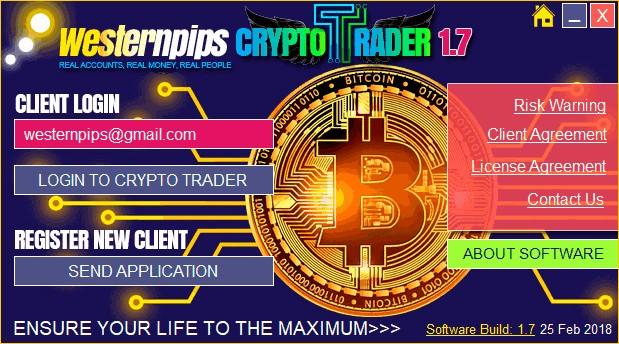 crypto-trader-login-form