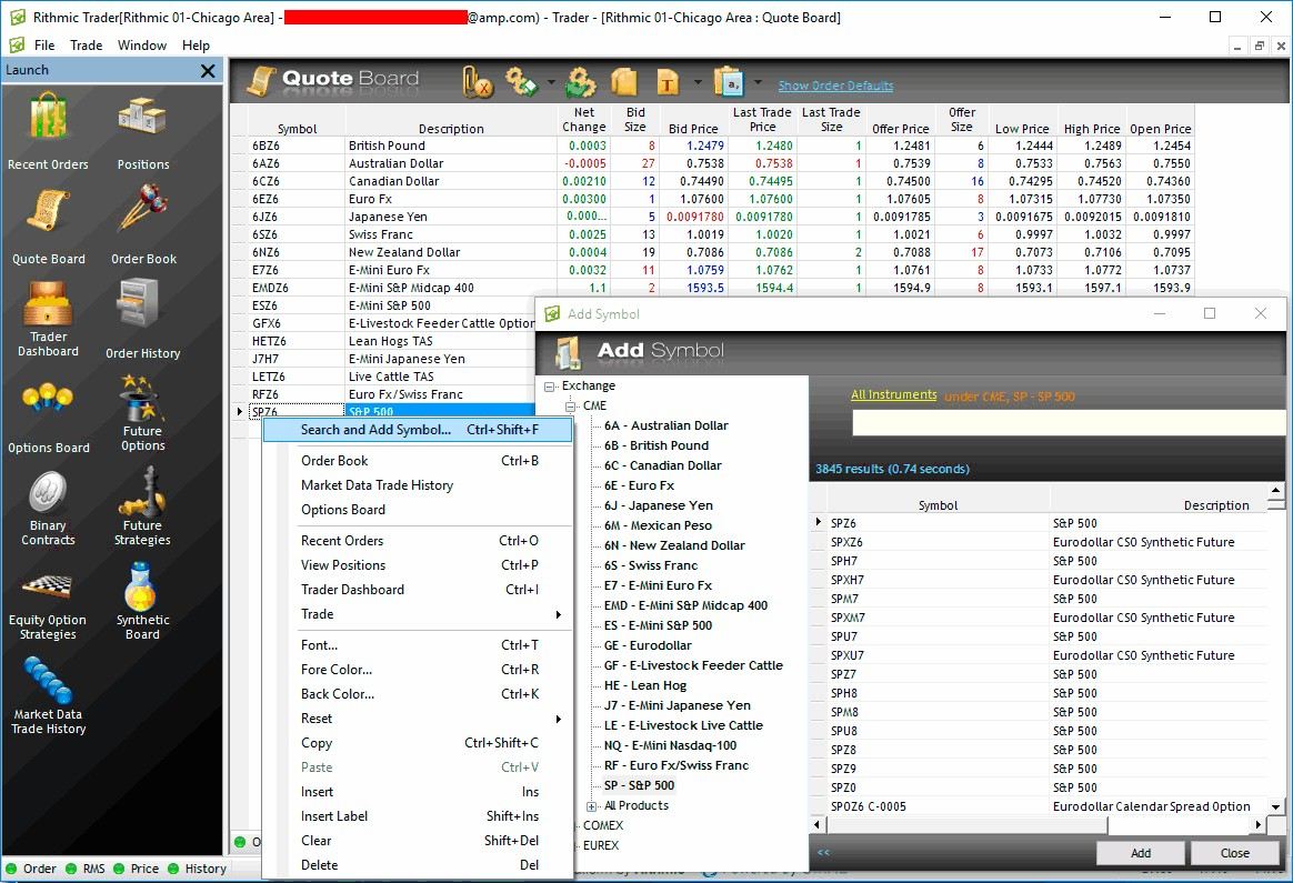 Rithmic Data Feed  The fastest data feed for arbitrage trading