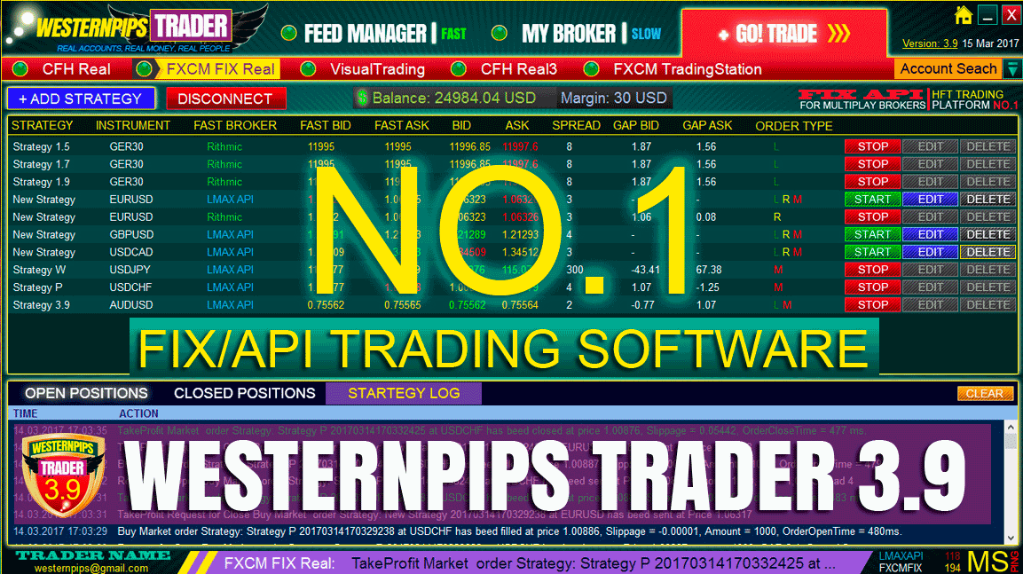 Arbitrage Forex Software Latency HFT Trading | Westernpips Group