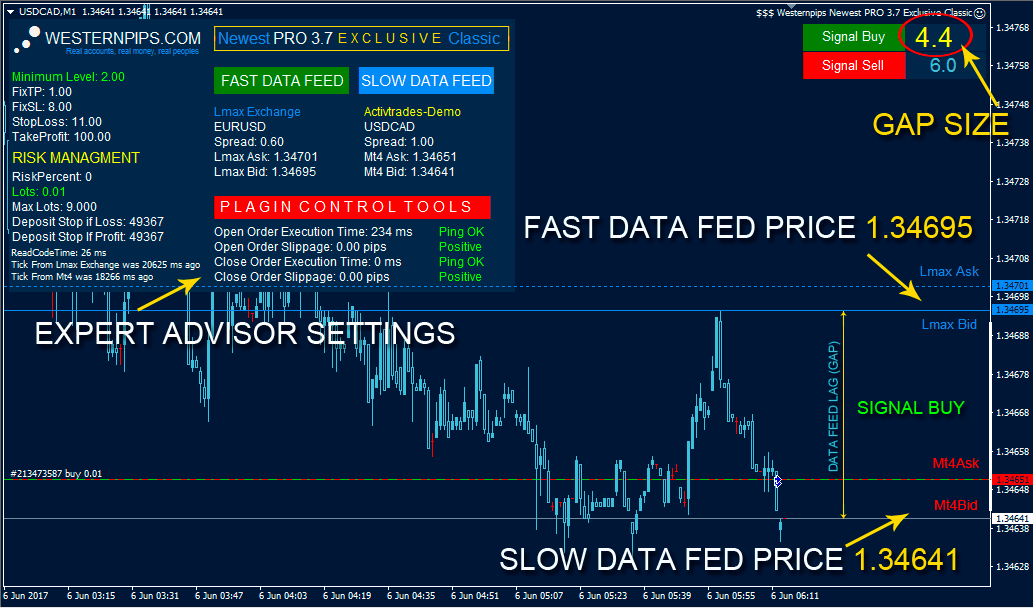 Forex data feed